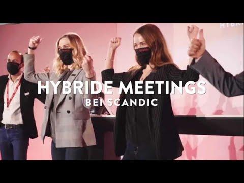 Online und hybride Events bei Scandic   Tagen bei Scandic