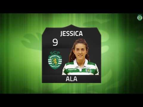 16/17 Resumo/Golos 2ª Fase Jornada 5 - Campeonato Nacional Feminino - Sporting CP 6 x 1 Avintenses