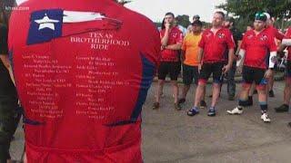 Texas Brotherhood bike ride honors the fallen