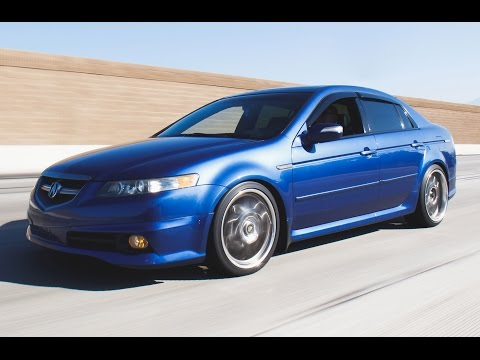 Modified 2007 Acura TL Type S – One Take