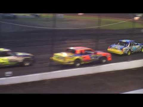 Nielsen Racing Britt 8-18-17 - dirt track racing video image