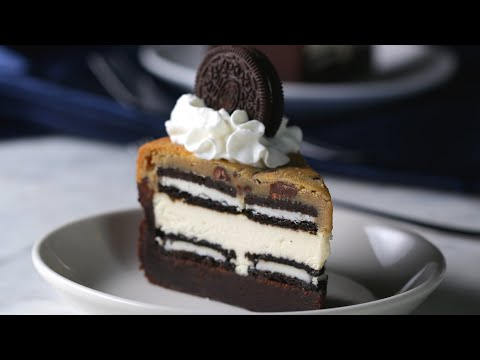 5-Layer Brownie Cookie Cheesecake