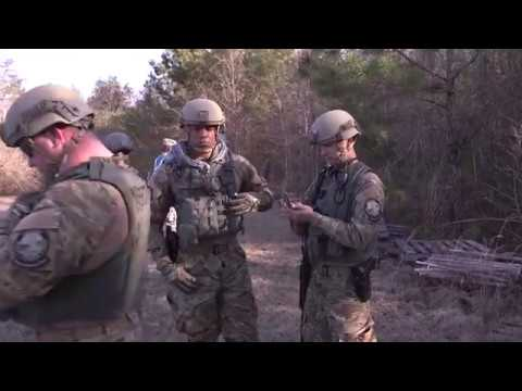 DFN: BRoll Search and Rescue Patriot South 18,CAMP SHELBY,HATTIESBURG, MS, UNITED STATES, 02.13.2018