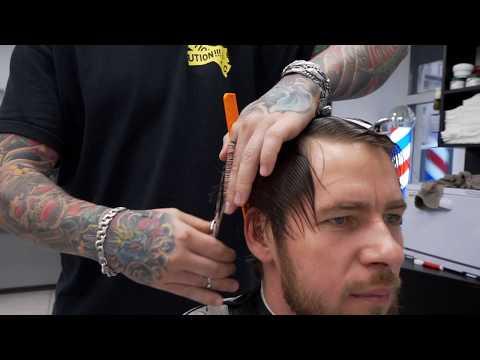 THE PERFECT MEN'S HAIRCUT /Men's Hair /Haircut & Beard Trim at Barbershop photo