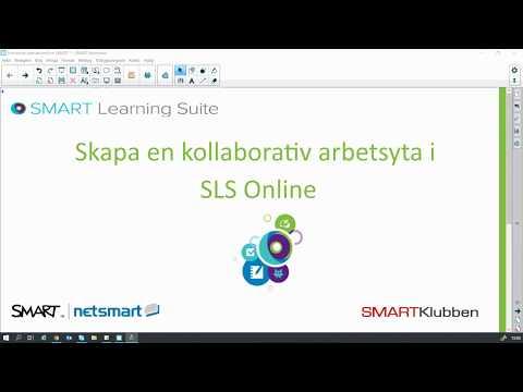 6  Skapa en kollaborativ arbetsyta i SLS Online