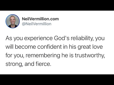 The Confidence Of My Great Love For You - Daily Prophetic Word