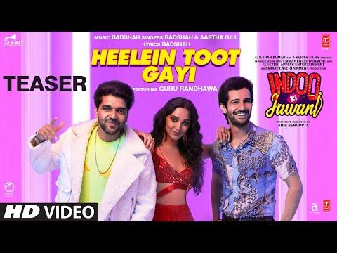 Indoo Ki Jawani: Heelein Toot Gayi Teaser | Badshah, Guru Randhawa, Kiara Advani, Aditya Seal 27 Nov