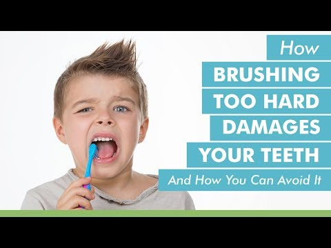 How Brushing Too Hard Damages Your Teeth and How You Can Avoid It