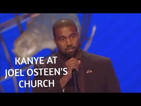 Kanye West Said WHAT at Joel Osteens Church?!