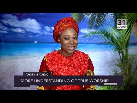 Dr Becky Paul-Enenche - SEEDS OF DESTINY  SATURDAY 31ST AUGUST, 2019