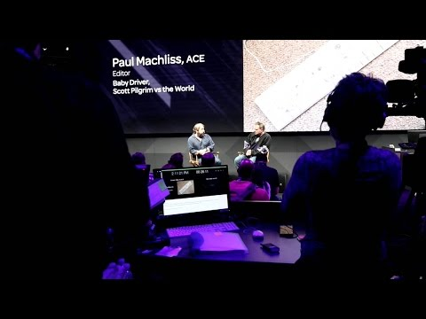 Avid at NAB Show 2017   Editor Paul Machliss, ACE
