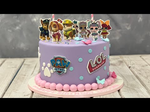 PAW Patrol & LOL Cake