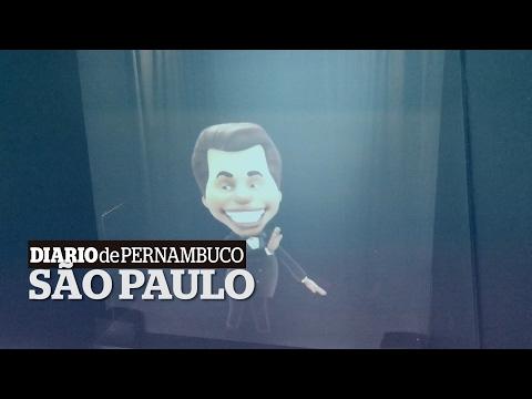 Confira a exposição sobre o apresentador Silvio Santos