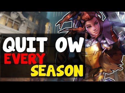 Why I Quit Overwatch Comp Every Season | OW Competitive Season 10 Problems / Overwatch Dying