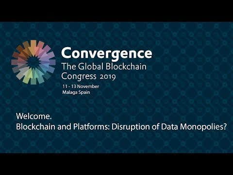 Welcome. Blockchain and Platforms: Disruption of Data Monopolies? photo
