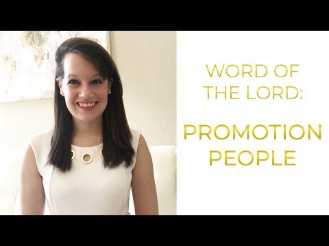 Word of the Lord: Promotion People
