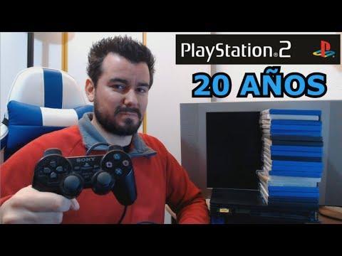 PLAYSTATION 2 CUMPLE 20 AÑOS