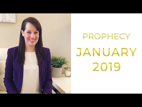 Prophetic Word for January 2019