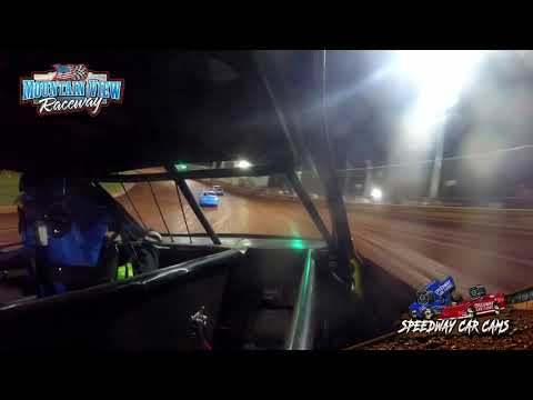 #0 Franky Sharp - FWD JR - 9-11-21 Mountain View Raceway - In-Car Camera - dirt track racing video image