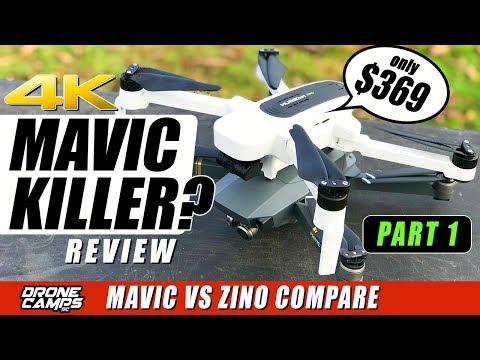 DJI MAVIC KILLER? - HUBSAN ZINO 4K Drone $369 - Compare, Flights, Range - Honest Review - UCwojJxGQ0SNeVV09mKlnonA