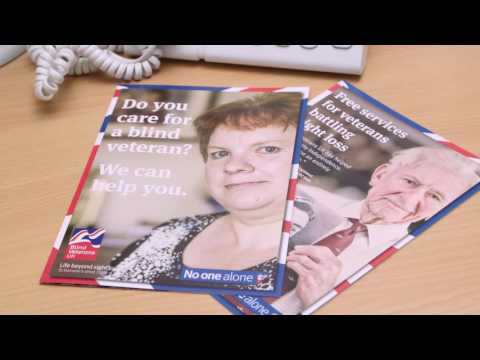 Blind Veterans UK Eye Health Week 2016