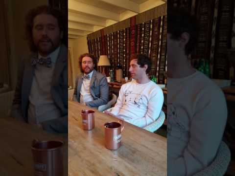 Interview: Thomas Middleditch and TJ Miller for National Moscow Mule Day