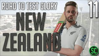 MITCHELL DEBUTS & SANTNER MAIDEN TON!? - New Zealand #1 Test Rankings #11 - Cricket Captain 2018
