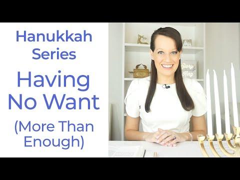 Hanukkah Day 7--No want!