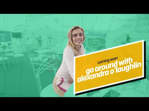 Go Around with Alexandra O'Laughlin Premieres 9/11 at 2PM ET