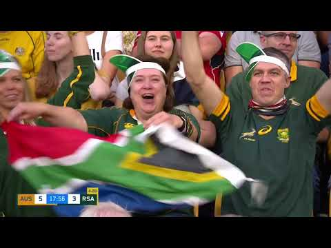 The Castle Lager Rugby Championship   Australia v South Africa   Highlights