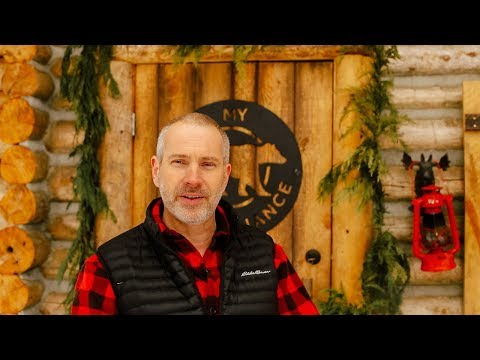 An Exciting New Year at the Off Grid Log Cabin in the Canadian Wilderness