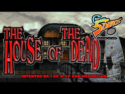 DIRECTO: HOUSE OF THE DEAD (Intentos de 1cc a 2P con Hechelion - Arcade - MODEL 2)