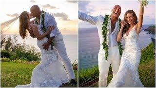 WWE RAW 19th August 2019 Watch Video Dwayne Johnson Marries Lauren Hashian in Hawaii