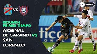 Resumen Primer tiempo: Arsenal vs San Lorenzo   Fecha 4 - Superliga Argentina 2019/2020