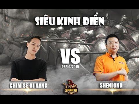 Trận 1 | Solo Shang | Chim Sẻ Đi Nắng vs Shenlong | Ngày 08-10-2019
