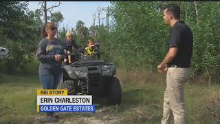 Family warning other riders after discovering dangerous rope strung up on ATV trail