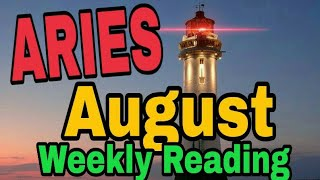 Aries August2019 STRONG DEFENCES DECISION TO QUIT DRINKING OR DRUGS PATIENCE COMPROMISE Tarot Readin