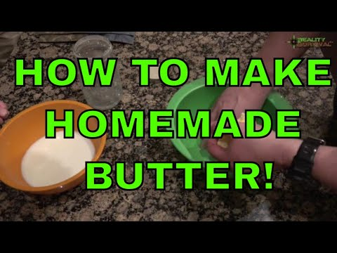 How To Make Homemade Butter In A Mason Jar