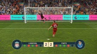 LIVERPOOL vs PORTO   UEFA Champions League - UCL   Penalty Shootout   PES19