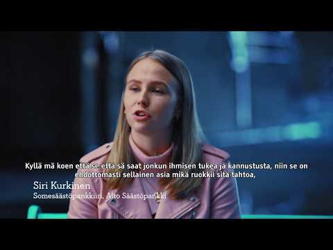 Tahdon asialla -haastatteluvideot - Somesäästöpankkiiri Siri Kurkinen, subs.| Säästöpankki