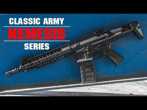 Best Airsoft  M4 PDW AEG Option? | Classic Army Nemesis AEG Overview | AIRSOFTGI.COM
