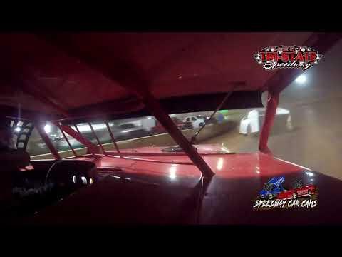 #D97 Devin Barker - USRA B-Mods - 9-11-2021 Tri-State Speedway - In Car Camera - dirt track racing video image