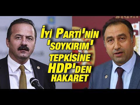 İyi Parti'nin 'soykırım' tepkisine HDP'den hakaret