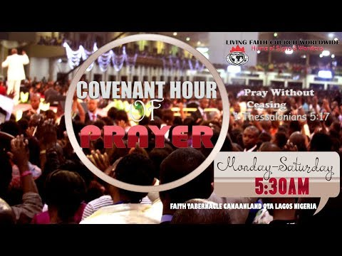 DOMI STREAM: COVENANT HOUR OF PRAYER    10TH JULY, 2019