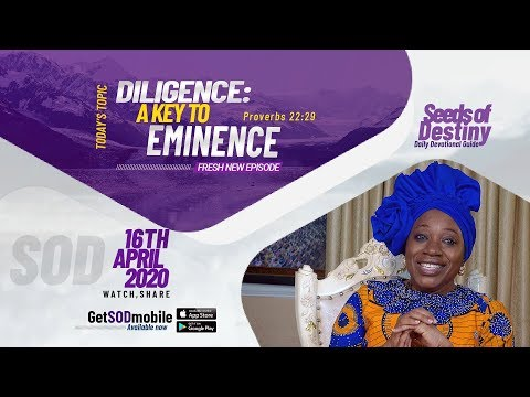 Dr Becky Paul-Enenche - SEEDS OF DESTINY - THURSDAY , APRIL 16, 2020