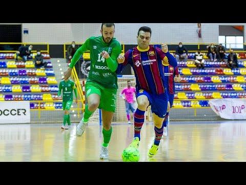 BeSoccer UMA Antequera - Barça Jornada 16 Temp 20-21