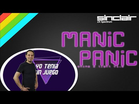 Manic Panic | ZX Spectrum Homebrew | Partida | Review | Reseña | Basado en Manic Miner