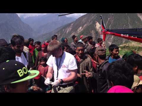 Jordbävningen i Nepal med vår läkares ögon