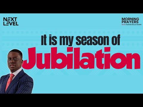 Next Level Prayers  It's My Season Jubilation  Pst Bolaji Idowu  2nd September 2021
