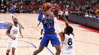 RJ Barrett Highlights From Knicks Summer League Game vs. Raptors | NBA